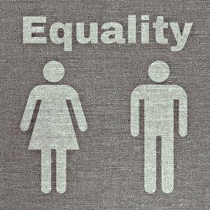 logo Egalité avec symboles homme et femme