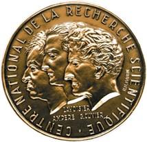Médaille de bronze du CNRS