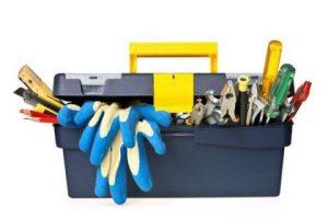 photo d'une boite à outils
