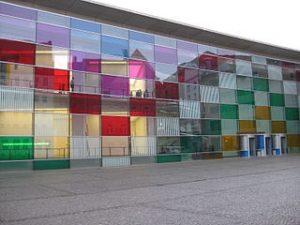 Buren facade du Musée de Nuremberg