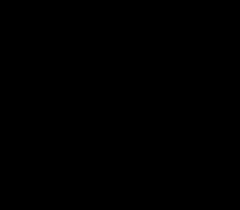 Image vectorielle d'une mosquée noire sur fond blanc