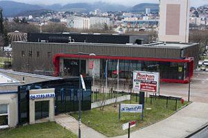 Saint Etienne grande surface et panneaux publicitaires