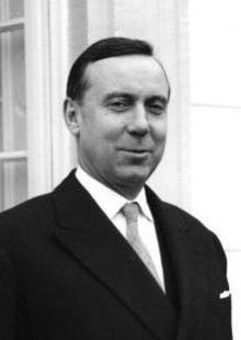 Photo de Michel Debré en 1960