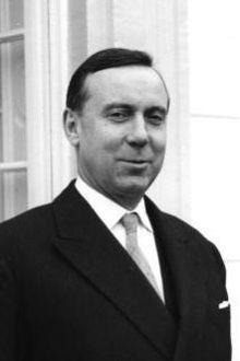 Photo de Michel Debré en 1960