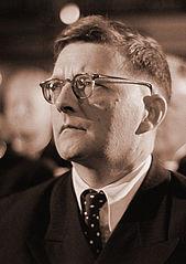 Portrait photographique de Chostakovitch