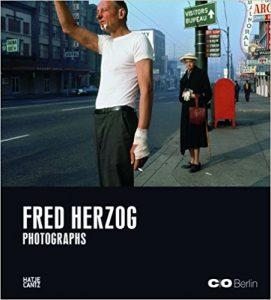 couverture du livre Fred Herzog : photographs