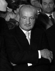 Portrait photographique d'Heidegger en 1960