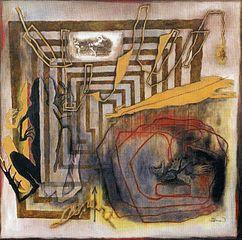tableau représentant un labyrinthe