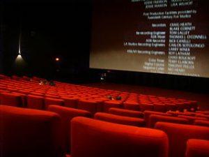 intérieur d'une salle de cinéma