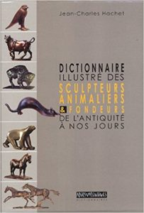 couverture du Dictionnaire des sculpteurs animaliers