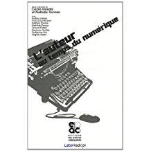 couverture du livre L'auteur au temps du numérique