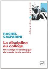couverture du livre : la discipline au collège
