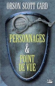 couverture du livre Personnages et point de vue