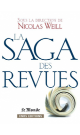 couverture du livre : la Saga des revues