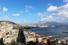 Photographie de la baie de Naples