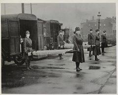 photo des ambulanciers de la Croix rouge (USA), 1917