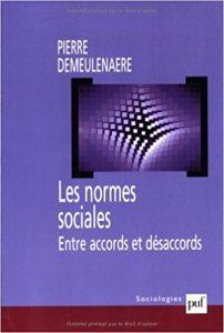 couverture du livre Les normes sociales entre accord et désaccord