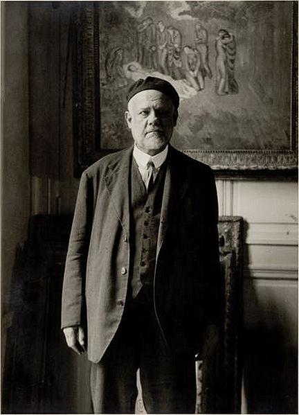 photographie d'Ambroise Vollard par Bénard Edmond