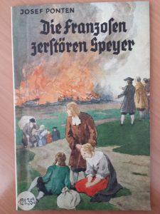 couverture du livre allemand Die Franzosen zerstören Speyer
