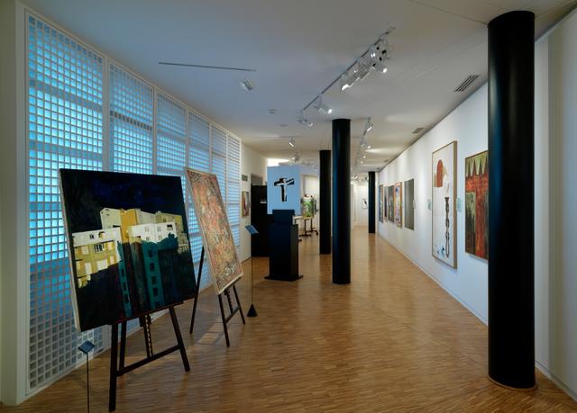 photographie de l'intérieur du Musée Paul Delouvrier