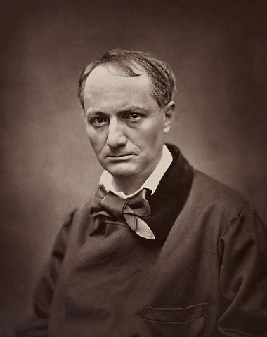 portrait photographique de Baudelaire par Etienne Carjat