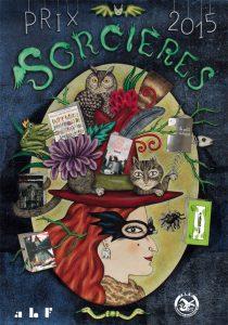Affiche de Delphine Jacquot pour le prix Sorcières 2015