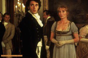 Image du film Raison et sentiment adapté de Jane Austen, Ang Lee réalisateur, 1995