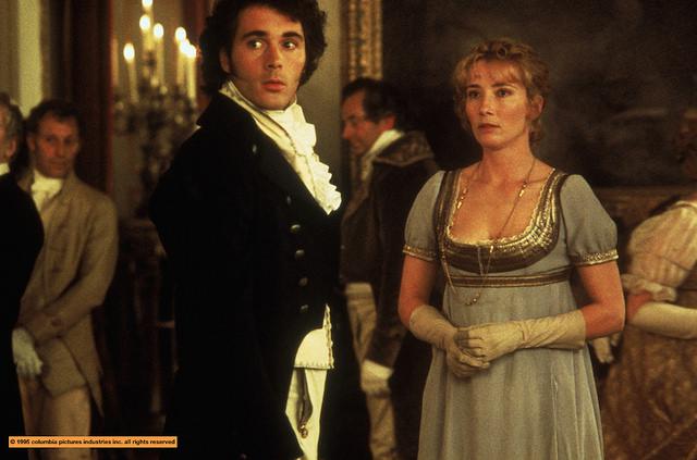 Image du film Raison et sentiment adapté de Jane Austen, Ang Lee réalisateur