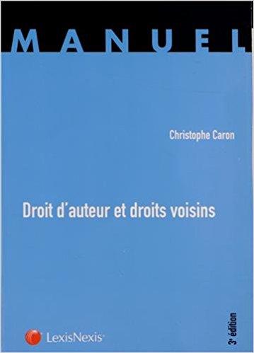 couverture du livre Droit d'auteur et droits voisins