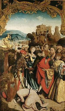 Martyr de Can, Cantien et Cantienne, Krainburger Altar 1510