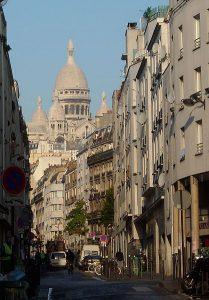 Photographie de la rue de Chartres 18°