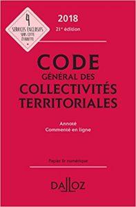 couverture du code général des collectivités territoriales