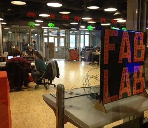 Fab lab de la Cité des sciences