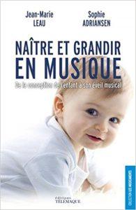 couverture du livre Naître et grandir en musique