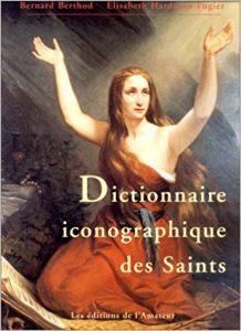 couverture du site Dictionnaire iconographique des saints