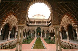 Photographie de l'Alcazar de Séville