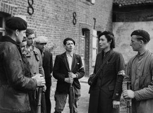 Photographie de Membres du maquis La Trésorerie,1944