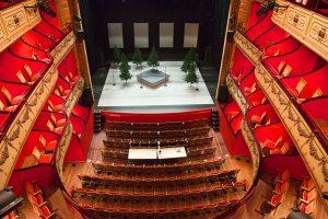 Photographie du théâtre du Jeu de Paume à Aix