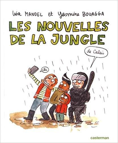 couverture de l'albumLes nouvelles de la jungle (Calais)