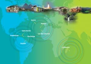 Carte des RUP Commission européenne