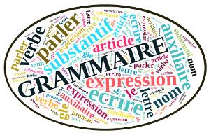 nuage de tags avec le terme Grammaire et mots voisins