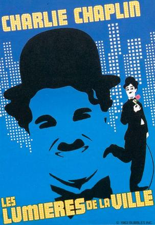 affiche du film The kid de Charlie Chaplin
