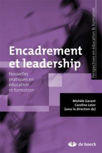 couverture du livre Encadrement et leadership