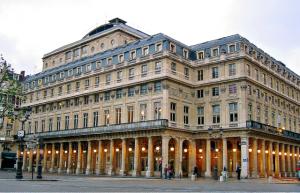 Photographie de la facade de la Comédie française