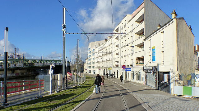 le long du Canal-Saint-Denis
