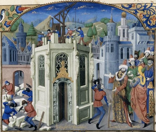 Reconstruction du Temple de Jérusalem, William of Tyre, Histoire d'Outremer