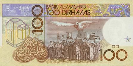 Billet de 100 dirham