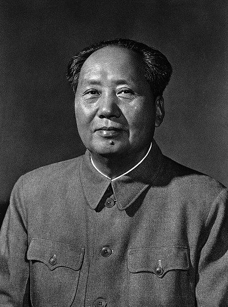 Portrait photographique de Mao en 1963