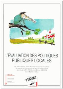 couverture du livre Evaluation des politiques publiques locales