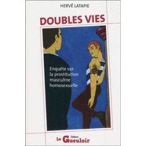 couverture du livre Double vie : enquête sur la prostitution masculine homosexuelle
